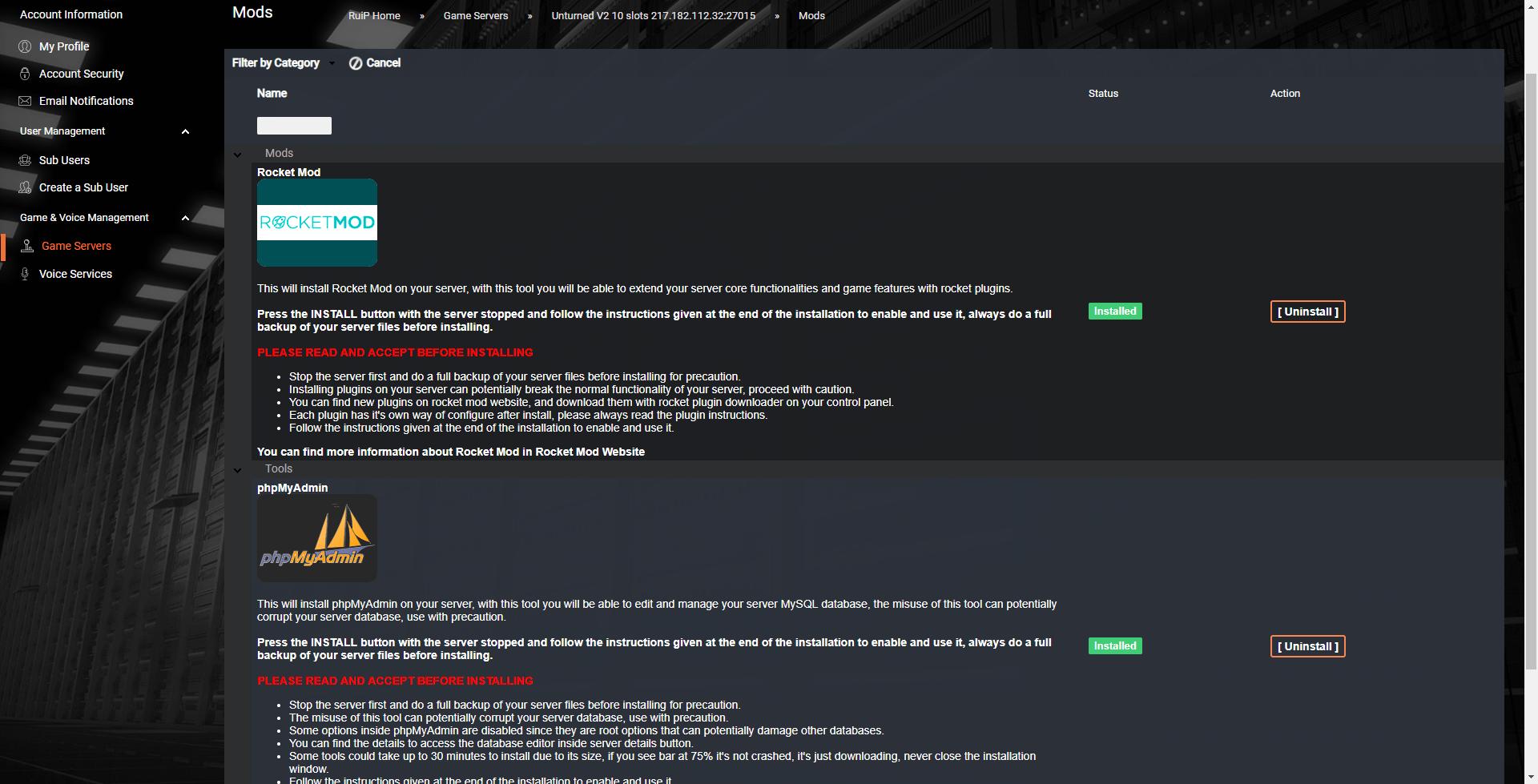 Хостинг для unturned бесплатно создание своего хостинга с 0