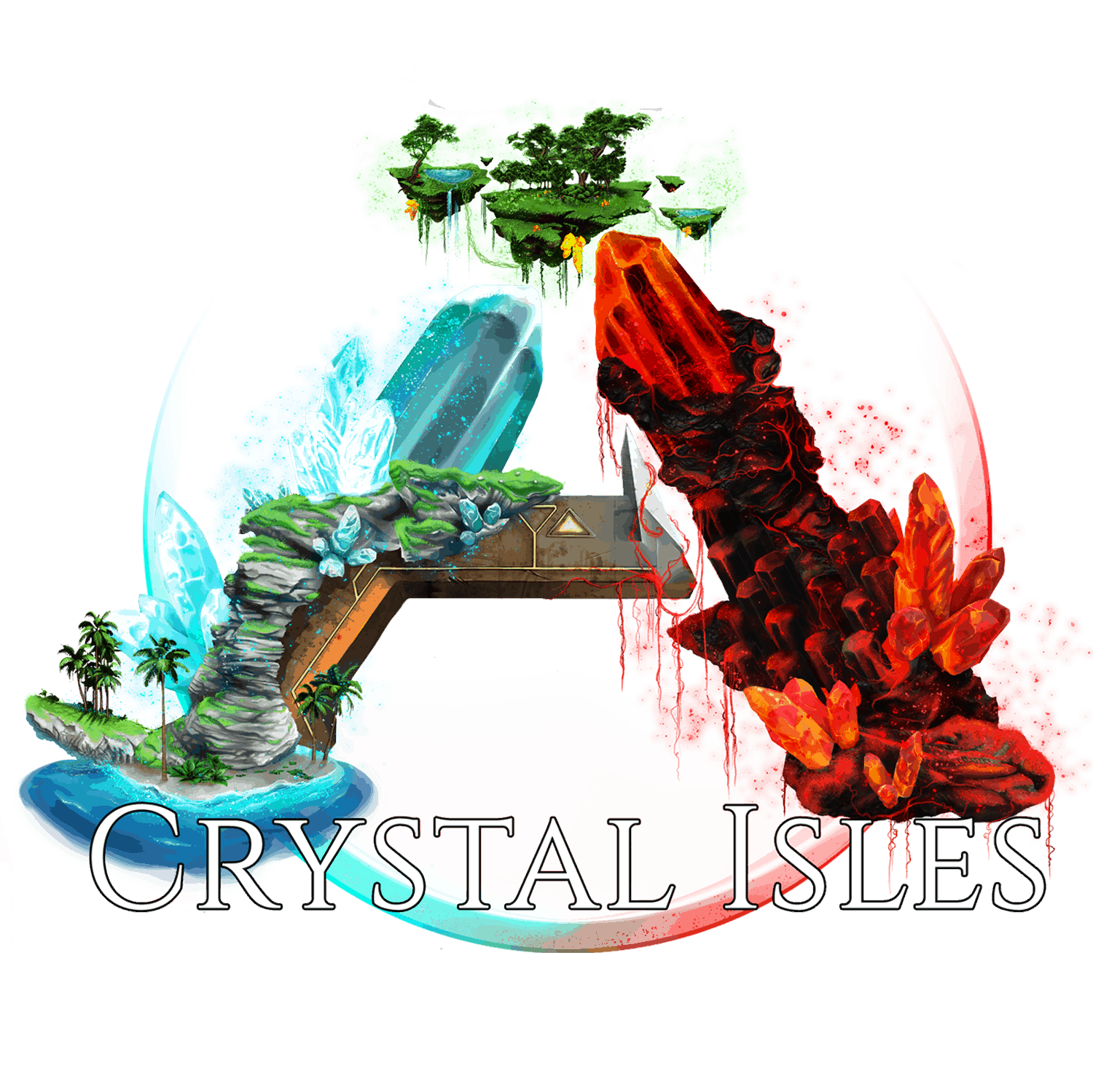 ark survival evolved crystal isles image